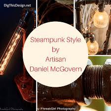 artisan daniel mcgovern industrial style lighting designer dig