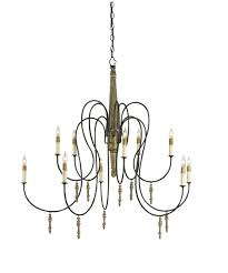 Currey And Company Lighting Currey And Company 9727 Rouleau 39 Inch Wide 1 Light Chandelier