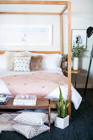 How To Decorate A Canopy Bed How To Decorate With A Canopy Bed Domino