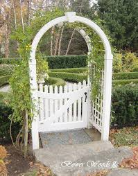 Arbor Trellis Plans New England Arbor Fairfield Deluxe White Vinyl Garden Arbor With