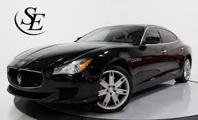 maserati sedan black 2016 maserati quattroporte s stock 22509 for sale near pompano
