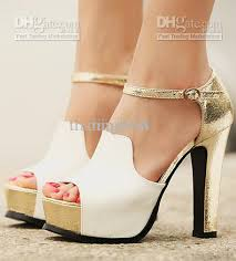 gold wedge shoes for wedding wholesale dress shoes buy sandals quality white gold wedding