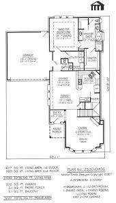 20 wide 1 12 story cottage w loft 1 1 2 story house plans