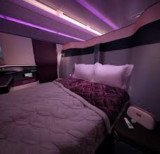 Bedroom Furniture Qatar Double Beds In Qatar Airways Sci Tech Thenews Com Pk