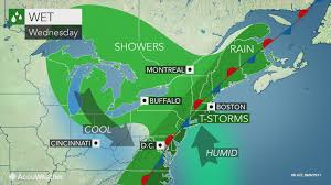 New England Weather Map by Eastern Us To Face Downpours Flash Flood Threat Through Midweek