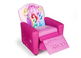 Disney Princess Armchair Princess Upholstered Recliner Chair Delta Children U0027s Products