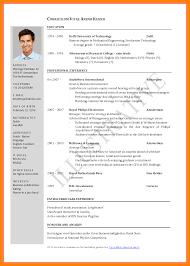 curriculum vitae for job application pdf 5 format of cv for job application actor resumed