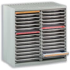 cd storage spring case for 30 disks grey