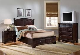 Bed Furniture With Drawers Vaughan Bassett Hamilton Franklin Full Panel Storage Bed Wayside