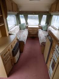 5 Berth Caravan With Awning 1997 Swift Challenger 480 S E U2013 2 Berth End Washroom With Awning