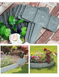 decorative plastic garden border edging home outdoor decoration