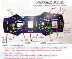 qav250 naze32 cc3d apm pdb power distribution board with 5v 12v