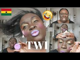 Challenge Tutorial Twi Makeup Tutorial Challenge Using Paints Just For