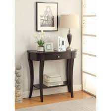 White Foyer Table Elegant Interior And Furniture Layouts Pictures Table Modern
