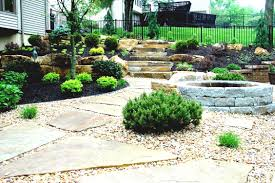 image of cheap landscaping ideas for backyard small on a budget