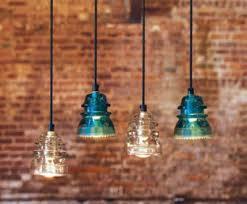 glass insulator light kit remodelaholic recycling glass insulators into pendant light