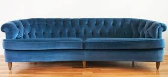 perfect pairings a capel rug with a trendy blue velvet sofa the