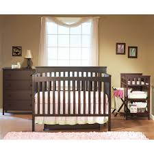 Convertible Crib Nursery Sets Large Crib And Changing Table Set Sorelle Verona 4 In 1