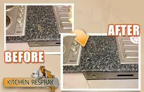 Resurface Kitchen Countertops by Kitchen Countertop Respray In Dublin Countertop Refinishing