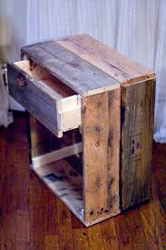 How To Make End Tables by Hmm Something New For Chris To Make Reclaimed Wood Side Table