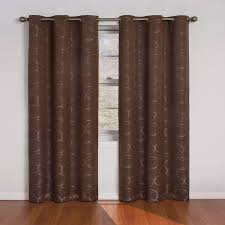 Eclipse Grommet Blackout Curtains Eclipse Curtains Meridian Blackout Curtain Panel