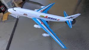 amazon com aeroplane jumbo jet model jumbo jet big size 14