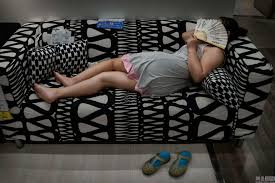 chinese sleeping on showroom furniture in beijing ikea u2013 chinasmack