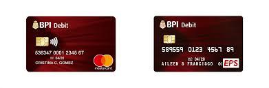 debit cards bpi