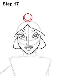 draw jasmine body
