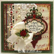 using spellbinders heirloom ornament fleur de lis accents and