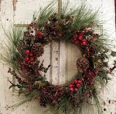 rustic christmas wreath christmas decor
