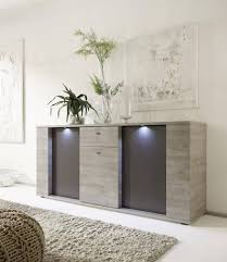 led sideboard buffet cabinet chest of drawers storage cupboard