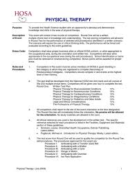 physical therapy cover letter sample physical therapist resume