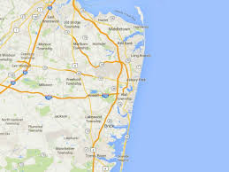 map of lakewood new jersey maps of the new jersey shore