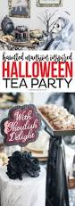 amazing halloween party ideas haunted mansion halloween tea party ideas printable crush