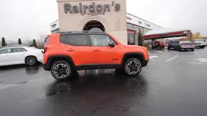 jeep renegade interior orange 2015 jeep renegade trailhawk orange fpc09389 everett