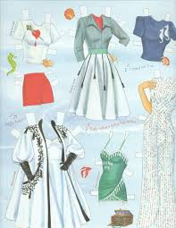 doll design book paper doll book buy esther williams bathing suits