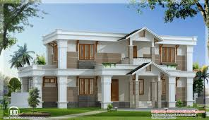 modern mix sloping roof home design 2650 sqfeet home modern house