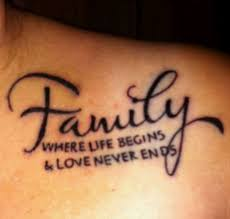family tattoos with meaning clipart library