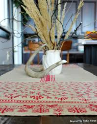 beyond the picket fence 12 days of christmas day 5 table runner