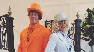 Dumb Dumber Halloween Costumes Video John Cena Nikki Bella Nail U0027dumb Dumber U0027 Scene