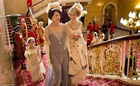 downton abbey christmas special at buckingham palace takes on bbc