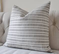 grey outdoor pillow cover soho stripe cement covers grey outdoor pillow cover soho stripe cement covers designer decorative gray