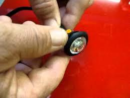 red led marker lights 3 4 amber led marker lights youtube