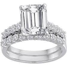 emerald cut wedding set cheap emerald cut bridal sets find emerald cut bridal sets deals