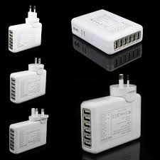 travel charger images 6 usb port home wall travel charger ac power adapter for iphone jpg