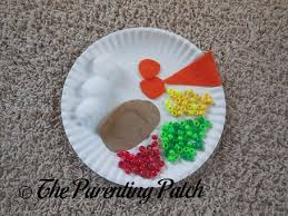 thanksgiving plate craft parenting patch