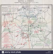 Ww1 Map Ww1 Western Front Battle Of Cambrai Royal Flying Corps 20 Nov
