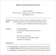 free combination resume template combination resume template 6 free sles exles format