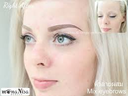 beautiful 3d eyebrows lip color areola eyeliner tattoo